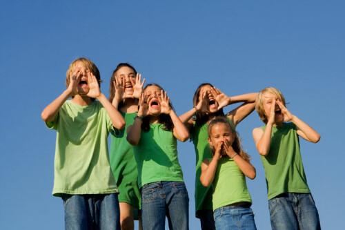 Children-shouting